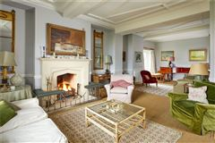 Luxury properties An elegant and beautifully located village house with a detached cottage