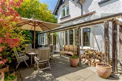 A substantial detached family home with attractive gardens  luxury homes