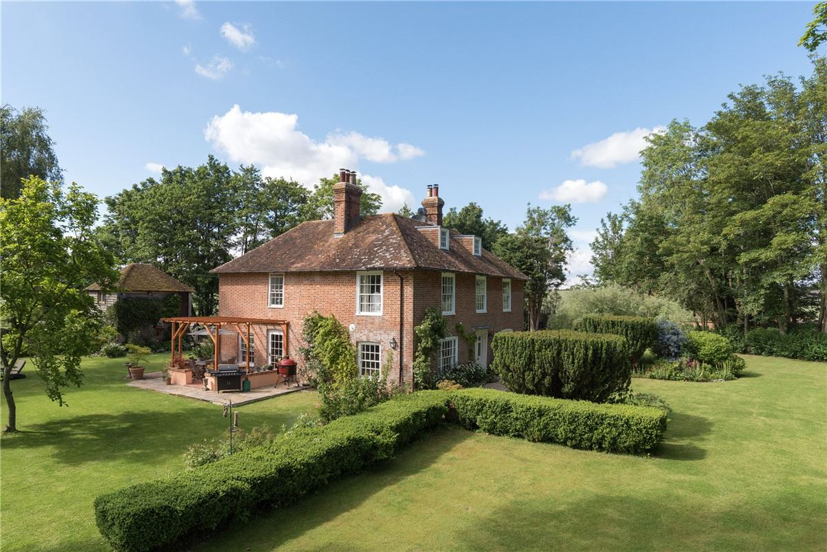 Luxury homes A beautiful period home with a moated garden