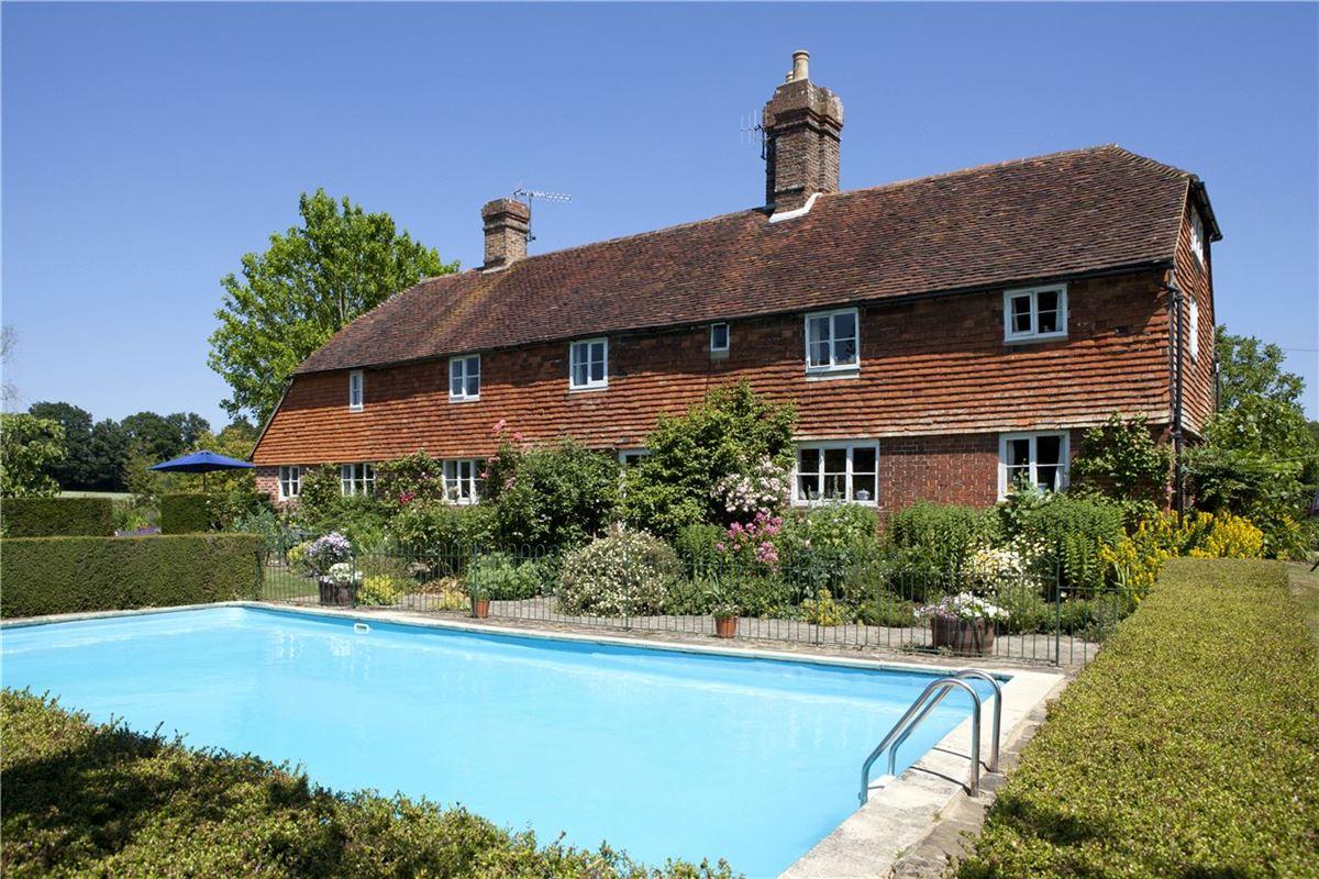 Luxury homes in Little Moorden - historic farmhouse
