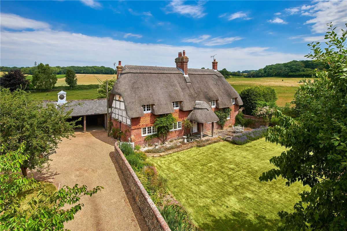 thatched farmhouse that dates back to the 16th century luxury homes