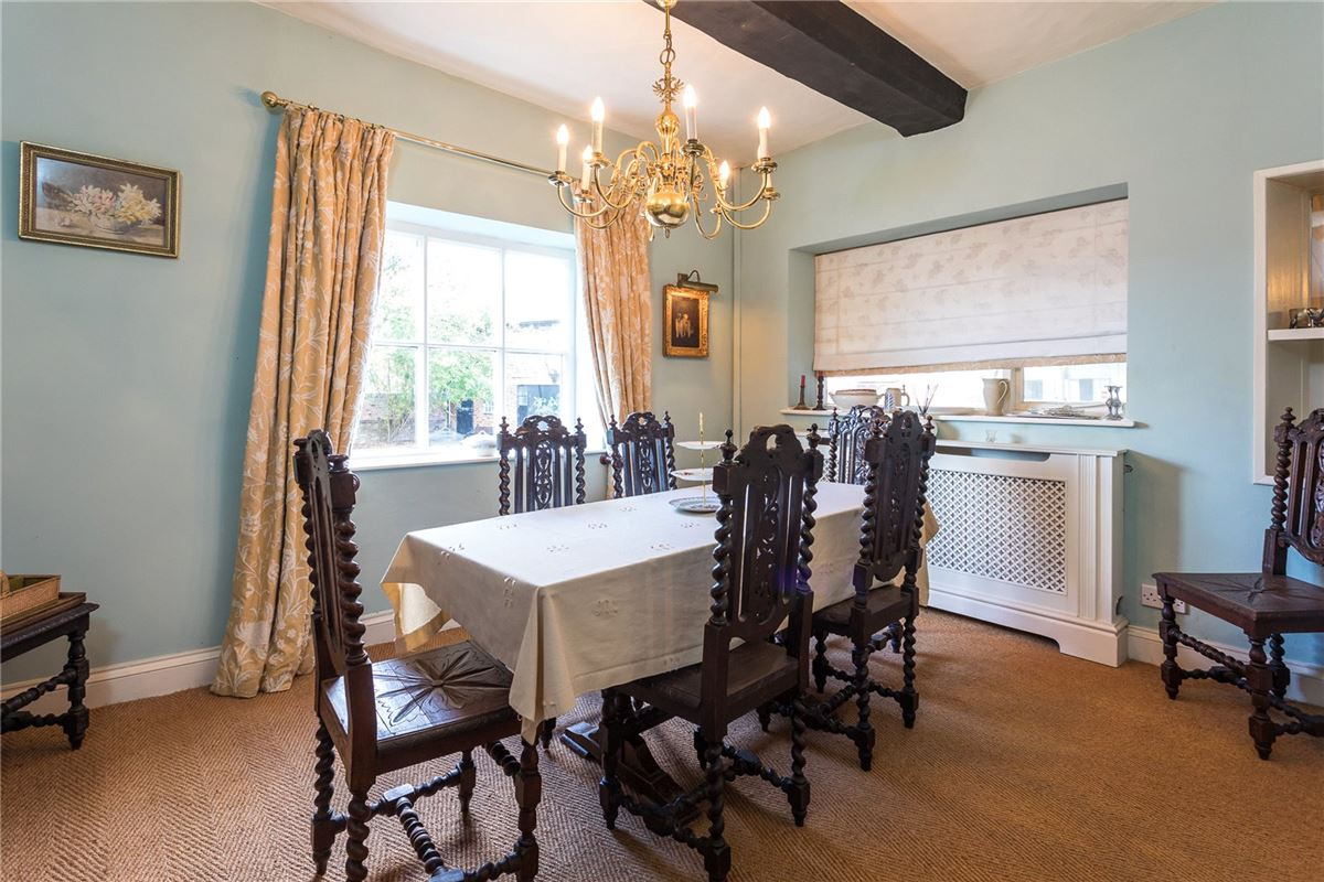 Luxury homes a fine period property in a Peaceful village location