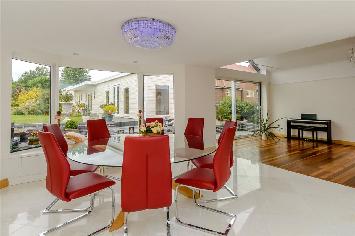 Extended and renovated home with a flexible plan luxury homes