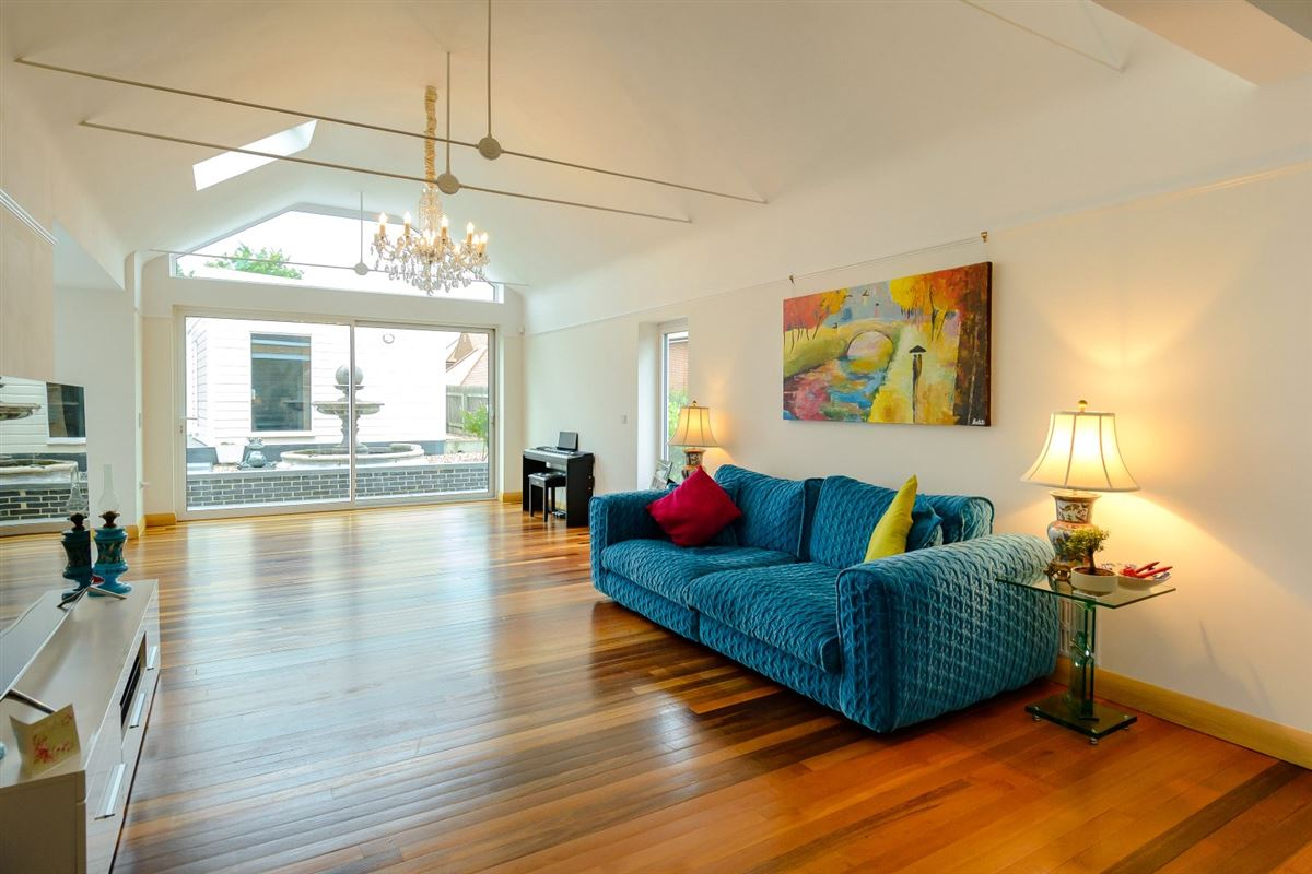 Extended and renovated home with a flexible plan luxury real estate
