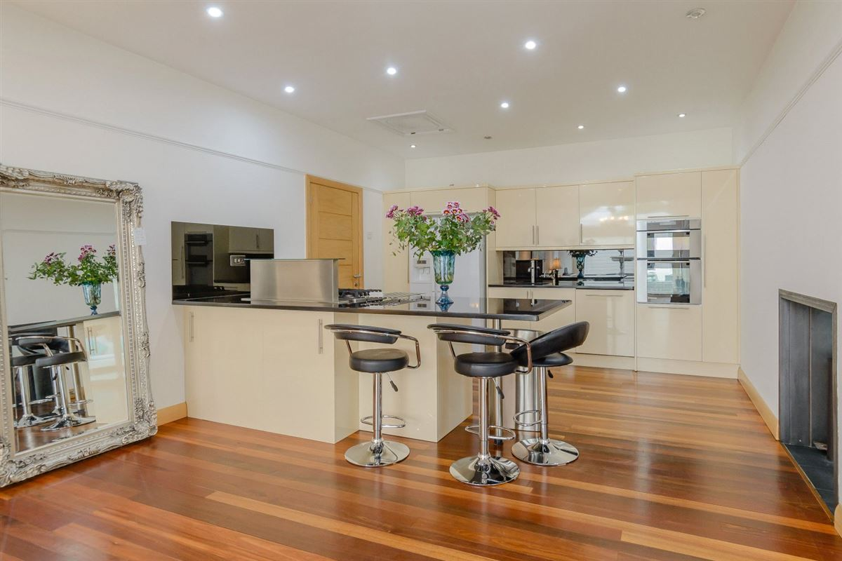 Luxury properties Extended and renovated home with a flexible plan