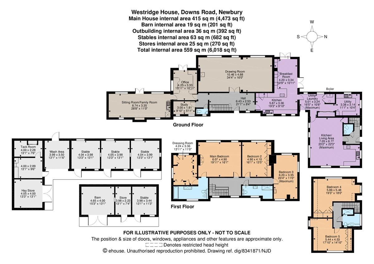 Luxury homes in Westridge House