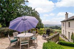 Luxury homes this elegant residence boasts beautiful gardens