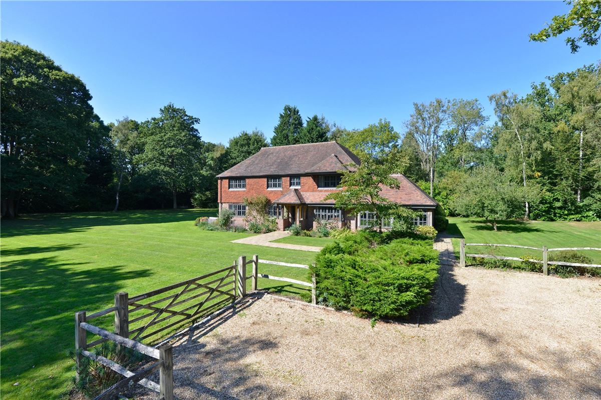 Luxury properties handsome and substantial home on charming grounds