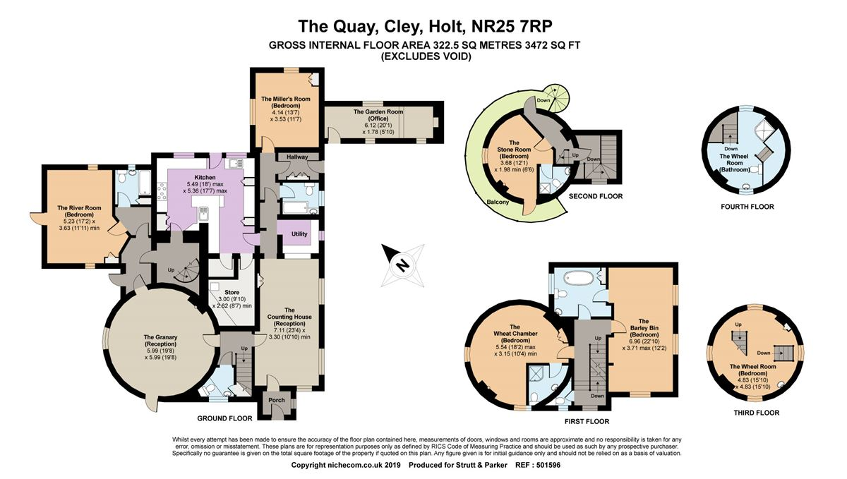 Cley Windmill luxury homes