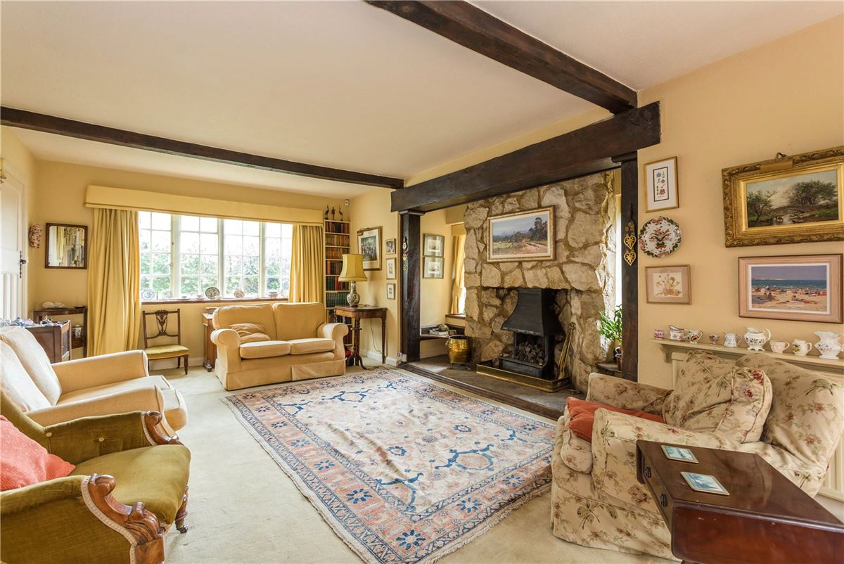 Luxury real estate This characterful property is nestled behind wooden gates