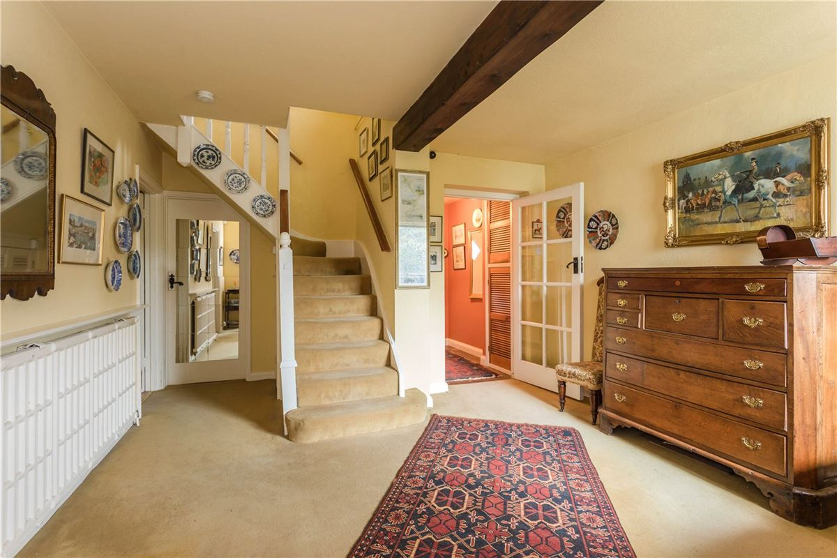 This characterful property is nestled behind wooden gates luxury real estate