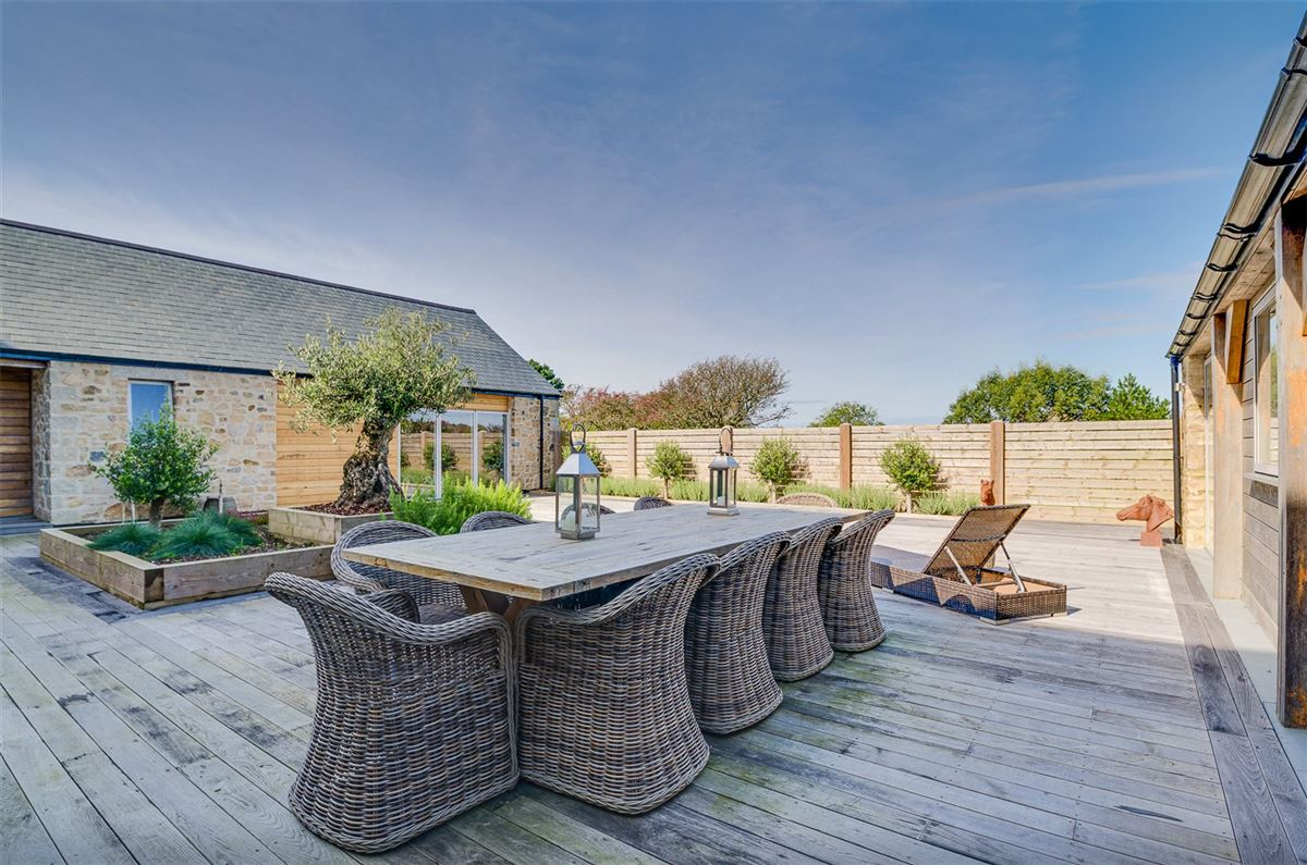 Luxury properties A contemporary farmhouse enjoying picturesque countryside views