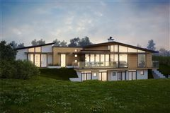 beautiful site with plans for new contemporary home mansions