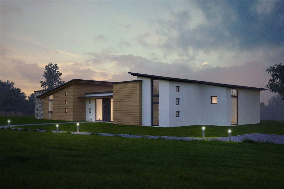 Luxury properties beautiful site with plans for new contemporary home