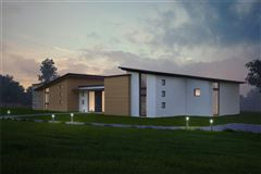 beautiful site with plans for new contemporary home luxury homes