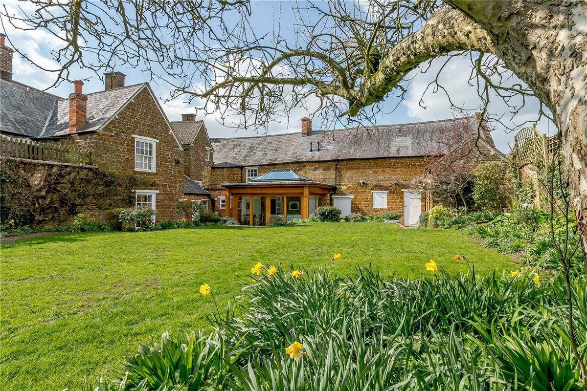 Luxury homes Beautiful Grade II Listed house overlooking the Green