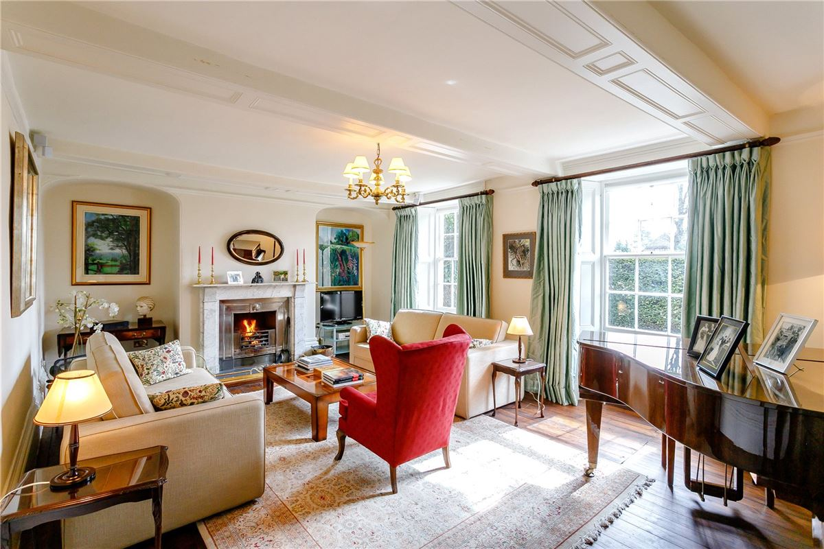 Beautiful Grade II Listed house overlooking the Green luxury real estate