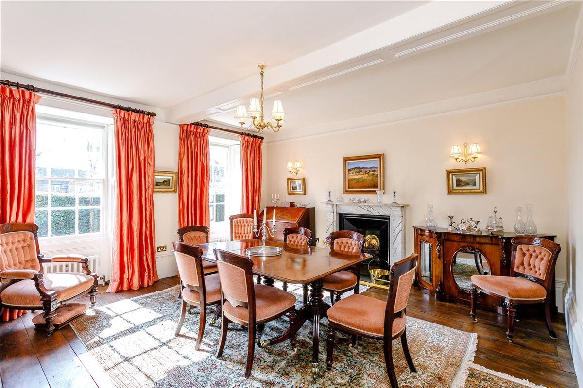 Luxury properties Beautiful Grade II Listed house overlooking the Green