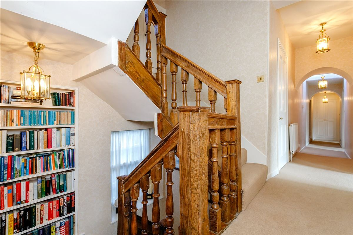 Luxury homes in Beautiful Grade II Listed house overlooking the Green