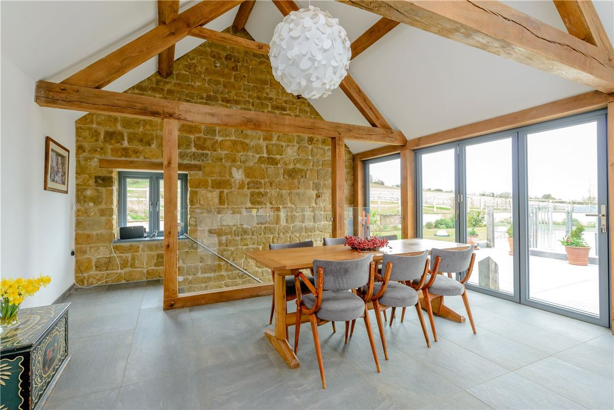 Luxury homes remarkable barn conversion