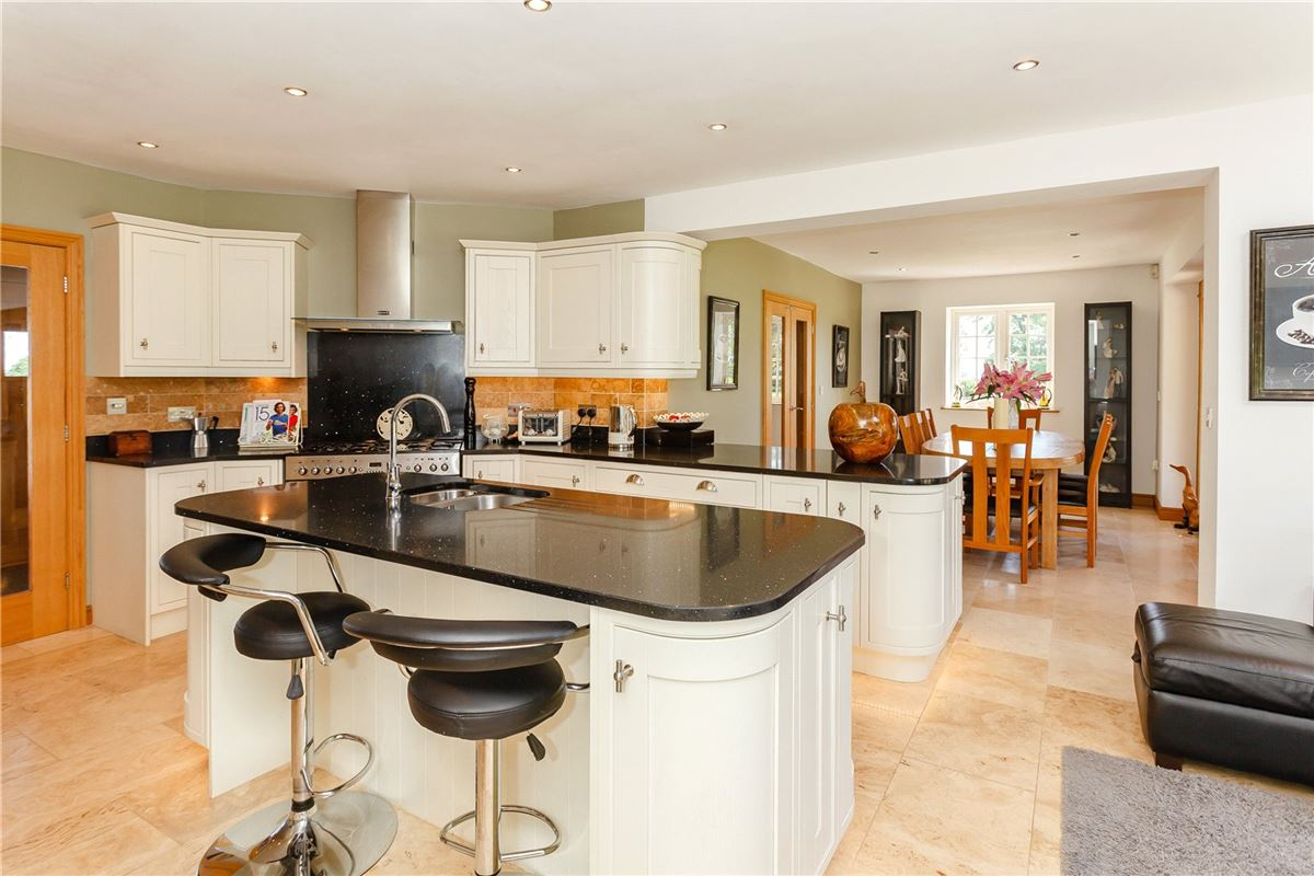 Luxury homes A magnificent home surrounded by open Cheshire countryside