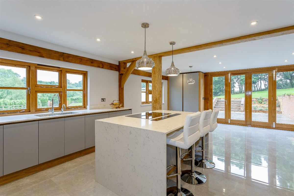 Luxury homes stylish and elegant detached barn conversion