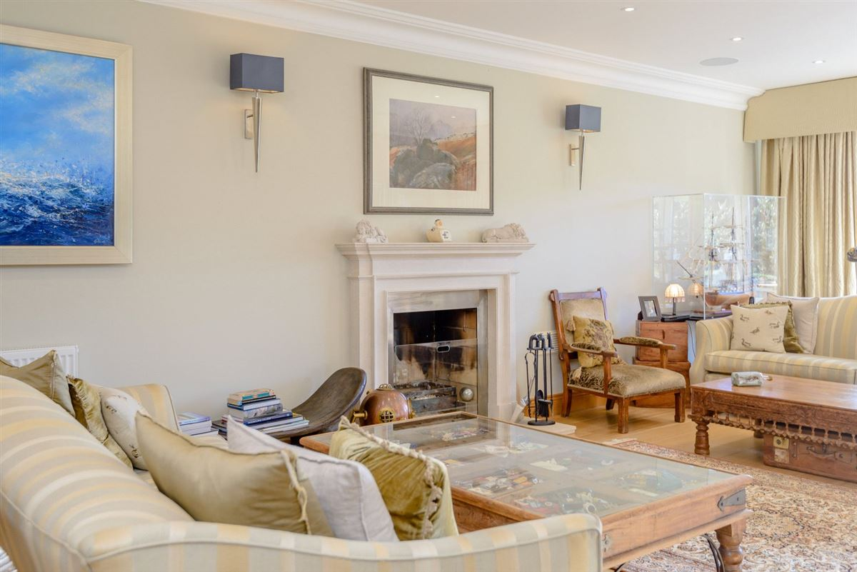 Immaculately presented family house luxury properties