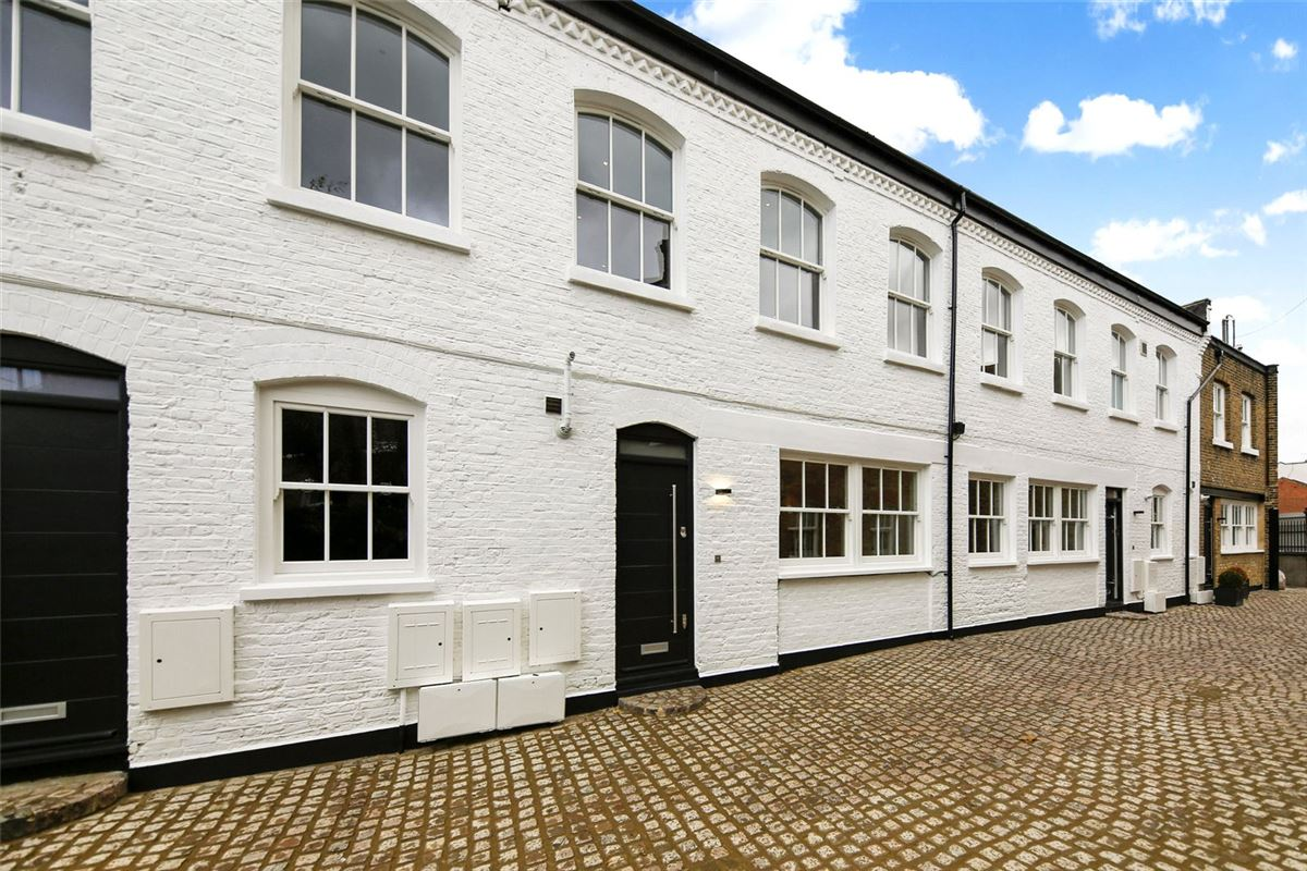 lovely new home in a charming period mews enclave luxury real estate