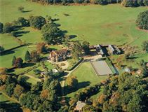 Mansions in glorious house in a tranquil rural setting
