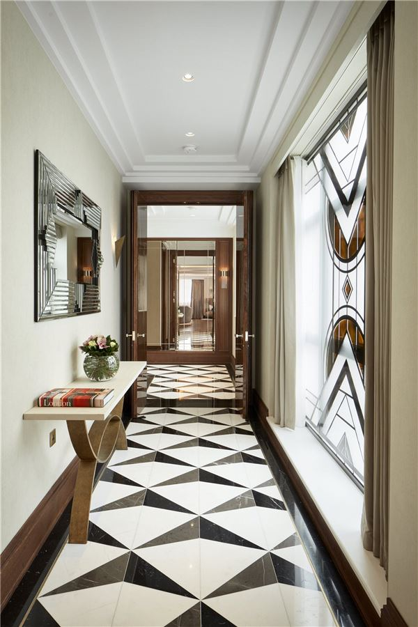 exceptional residence in this art deco building  luxury homes