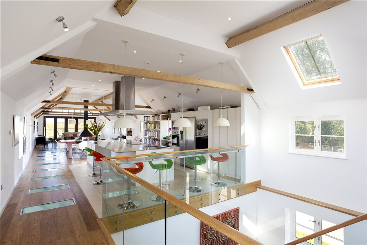 Luxury homes Newnham Barn
