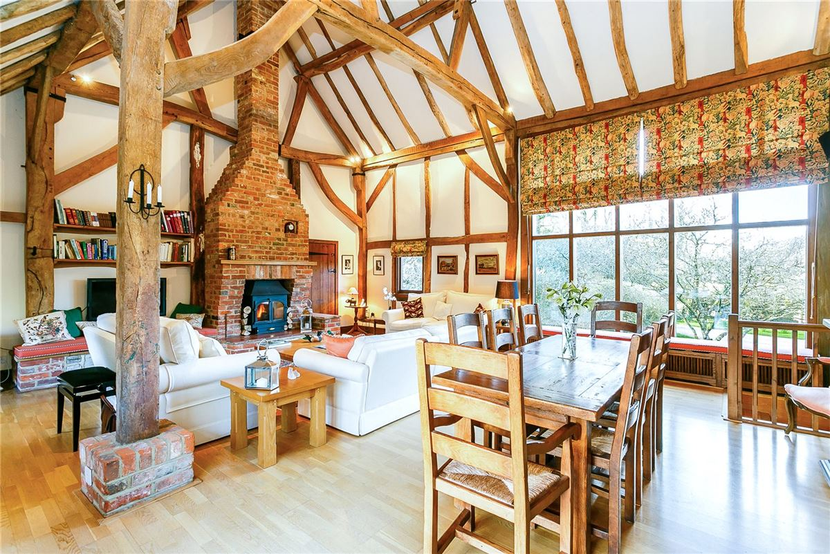 stunning 16th century thatched barn conversion luxury homes