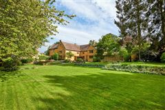 stunning detached village house with lush gardens luxury homes