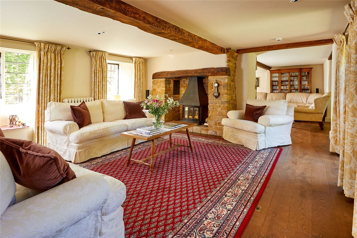 Luxury properties stunning detached village house with lush gardens