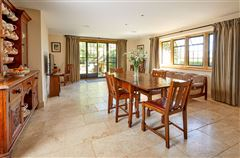 Luxury homes in stunning detached village house with lush gardens
