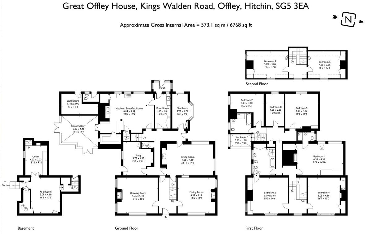 Luxury homes Great Offley house