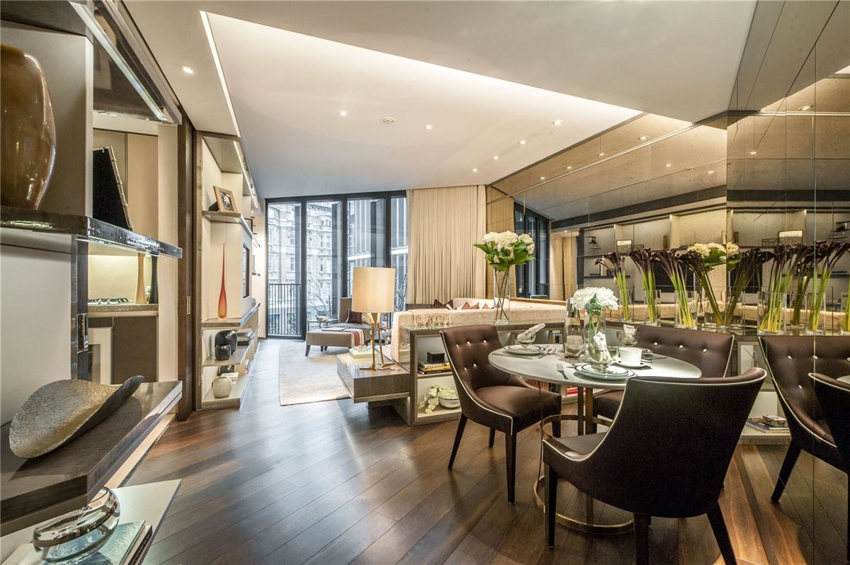 Mansions in the ultimate London pied-a-terre