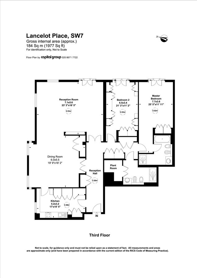 Luxury properties  two bedroom apartment in london