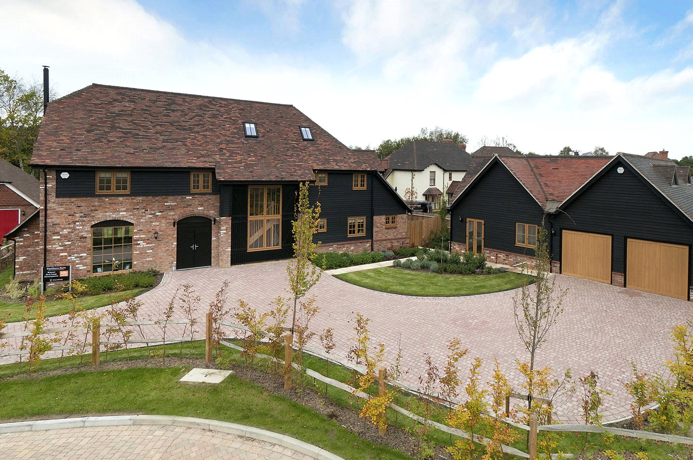 An Attractive New Build Barn Style Residence
