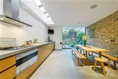 Luxury homes in bright and airy