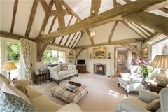 Luxury homes in a charming wisteria-clad detached country house