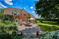 a charming wisteria-clad detached country house luxury homes