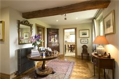 Luxury real estate a charming wisteria-clad detached country house