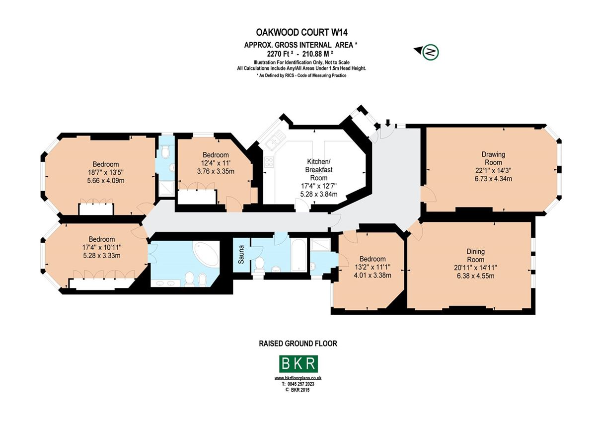 Luxury properties four bedroom raised ground floor flat