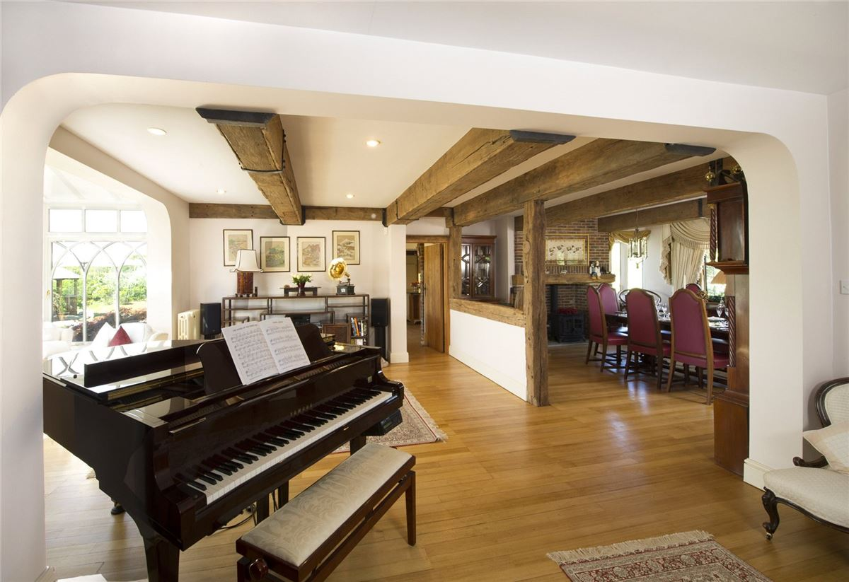 Luxury properties superb home boasts a wealth of original features
