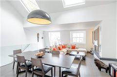 Luxury properties top floor maisonette with a fantastic roof terrace