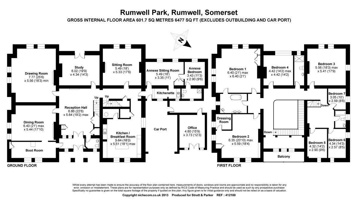 Mansions in Rumwell Park