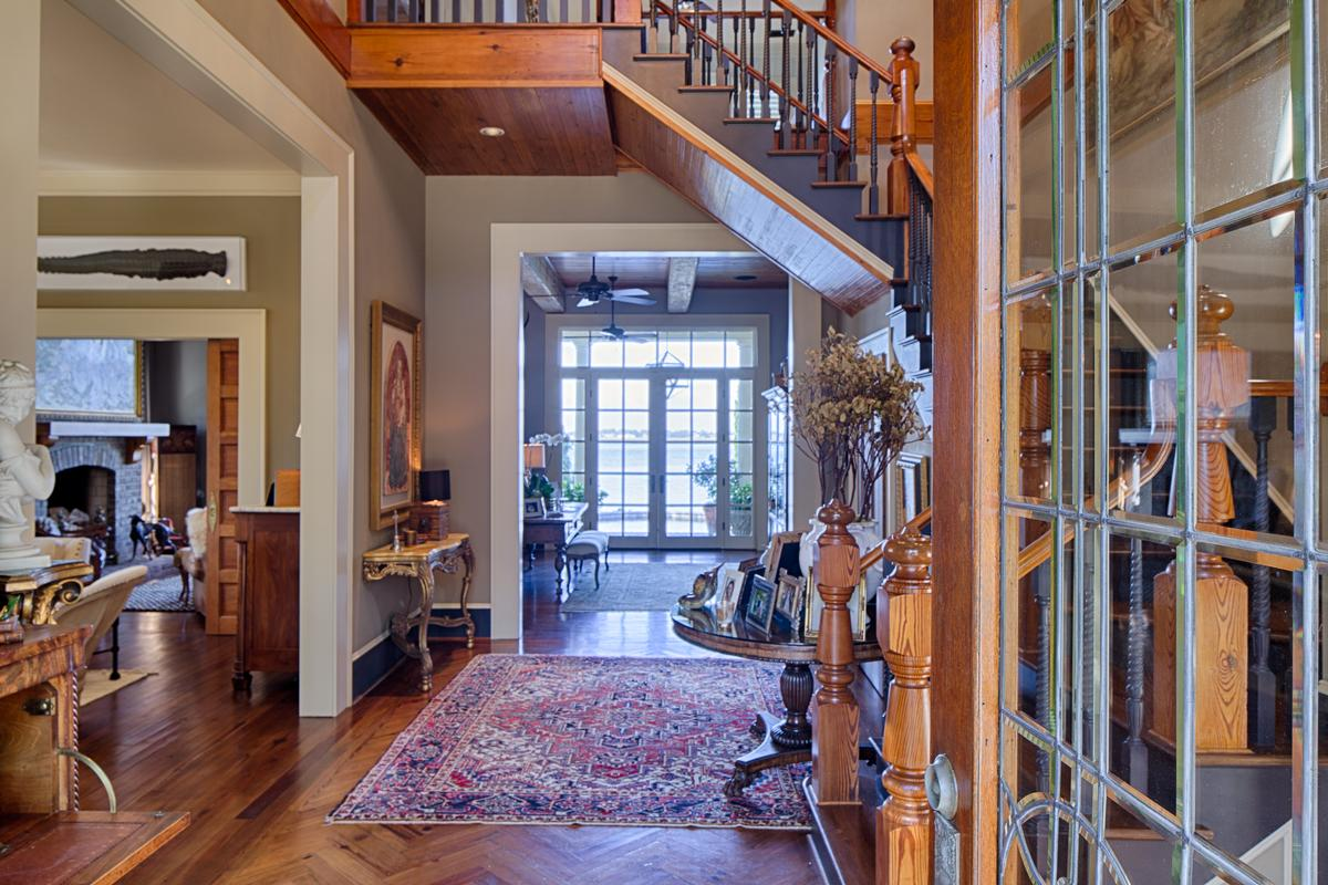 Tuscan Style Deepwater Home luxury homes