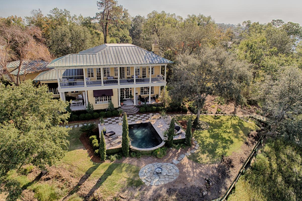 Tuscan Style Deepwater Home luxury real estate