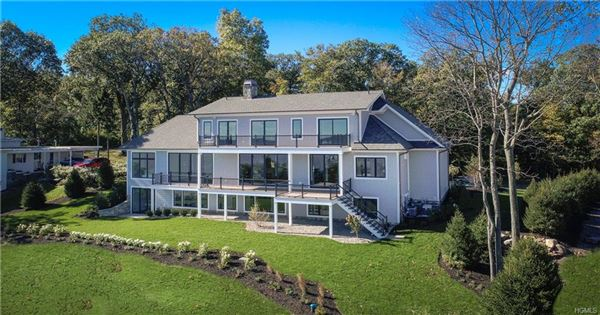 Luxury real estate Contemporary-Lodge style home in nyack